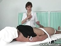 Miss Sonia tease and denial 